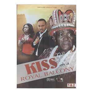 Kiss on a Royal balcony